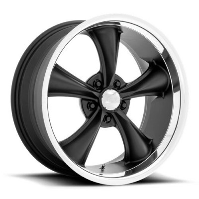American Racing VN338 BOSS Black wheel (18X8, 5x114.3, 72.56, 2 offset)