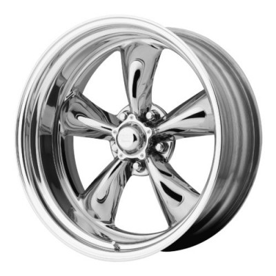 American Racing VN405 CUSTOM TORQ THRUST Polished wheel (16X9.5, , 72.60, 0 offset)