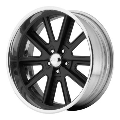 American Racing VN407 Matte Black Machine Lip wheel (18X12, , 76.50, 0 offset)