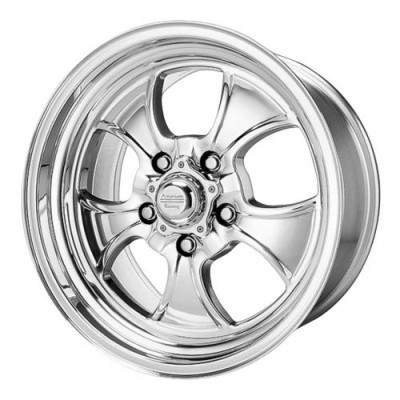 American Racing VN450 HOPSTER Polished wheel (15X6, 5x120.65, 72.60, -6 offset)