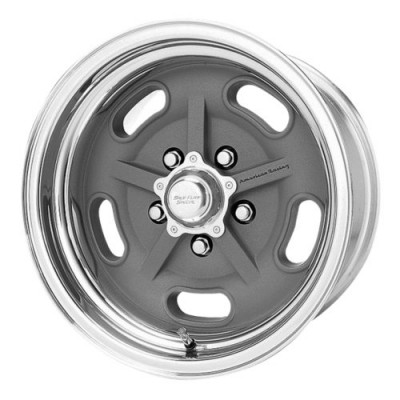 American Racing VN470 SALT FLAT Machine Grey wheel (16X9.5, , 72.60, 0 offset)