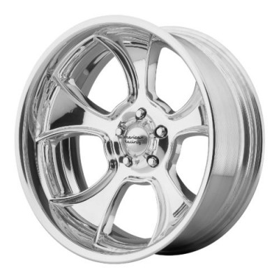 American Racing VN474 GASSER Polished wheel (18X12, , 72.60, 0 offset)