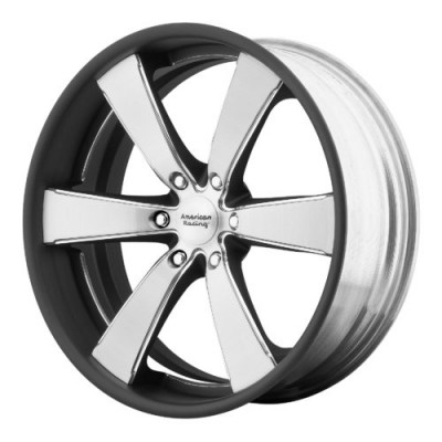 American Racing VN476 SLATE Machine Black wheel (20X8.5, , 78.30, 0 offset)