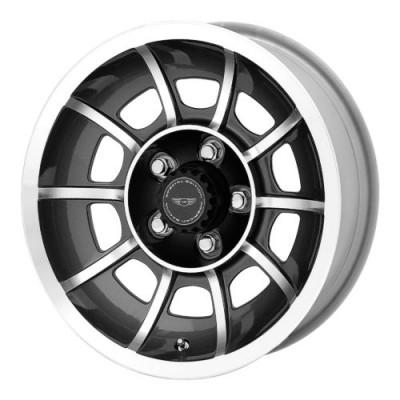American Racing VN47 VECTOR Dark Grey Machine wheel (15X7, , 72.60, 0 offset)