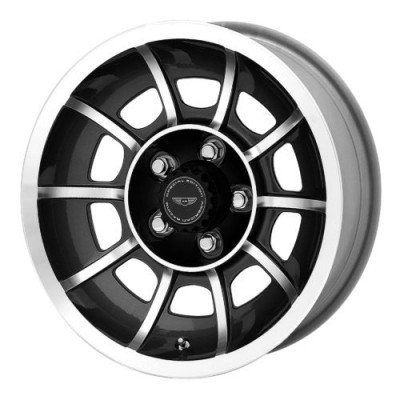 American Racing VN47 VECTOR Machine Black wheel | 15X7, , 72.60, 0 offset