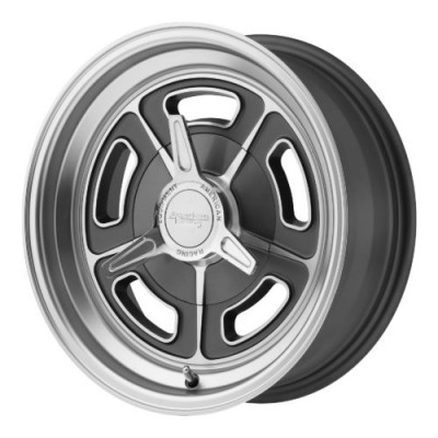 American Racing VN502 Grey wheel (15X8, 5x120.65, 76.50, -6 offset)