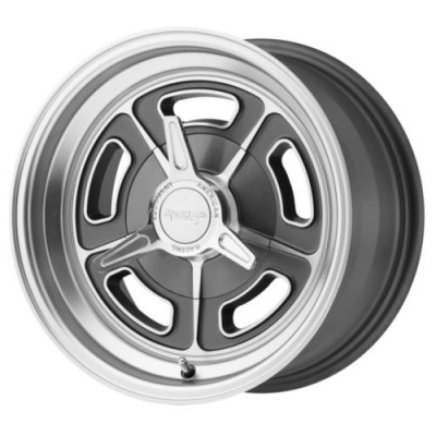 American Racing VN502 Machine Grey wheel (15X5, 5x120.65, 76.50, -12 offset)