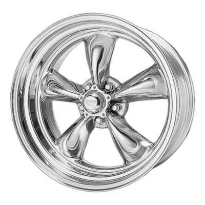 American Racing VN505 TORQ THRUST II Polished wheel (15X4, 5x120.65, 83.06, -25 offset)