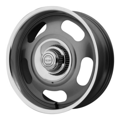 American Racing VN506 Machine Grey wheel (20X8, , 78.30, 0 offset)