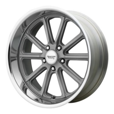 American Racing VN507 RODDER Machine Silver wheel (17X7, 5x114.3, 72.60, 0 offset)