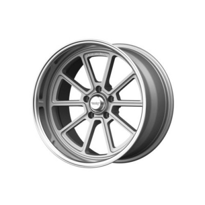 American Racing VN510 DRAFT Silver Machine Lip wheel (18X10, 5x114.3, 72.6, 0 offset)