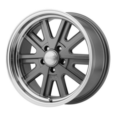 American Racing VN527 427 MONO CAST Machine Grey wheel (17X7, 5x114.3, 76.50, 0 offset)