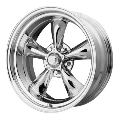 American Racing VN605 TORQ THRUST D Chrome Plated wheel (14X6, 5x114.3, 83.06, -2 offset)