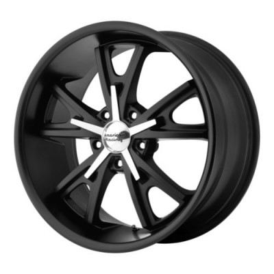 American Racing VN801 DAYTONA Machine Black wheel (22X11, 5x120, 72.6, 38 offset)