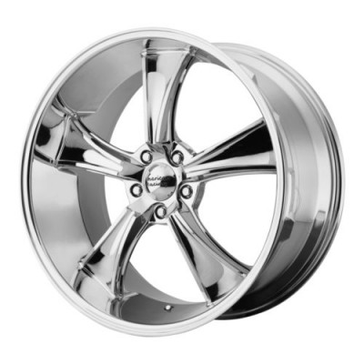 American Racing VN805 BLVD Chrome Plated wheel (18X9.5, 5x120.65, 72.6, 0 offset)