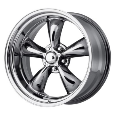 American Racing VN815 TORQ THRUST II 1 PC Chrome wheel (15X4, 5x114.3, 83.06, -25 offset)