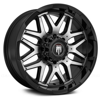American Truxx GRIND Machine Black wheel (20X9, 6x139.7, 106.1, -12 offset)