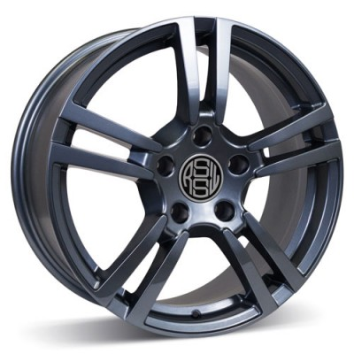 RSSW Private Anthracite / Anthracite, 20X9, 5x130 ,(déport/offset 48 ) 71.6