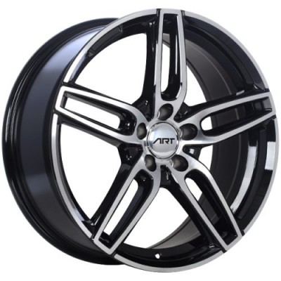 ART Replica 158 Gloss Black Diamond Cut wheel (18X8.0, 5x112, 66.6, 40 offset)