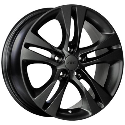 ART Replica 160 Gloss Black wheel (16X6.5, 5x105, 56.6, 39 offset)