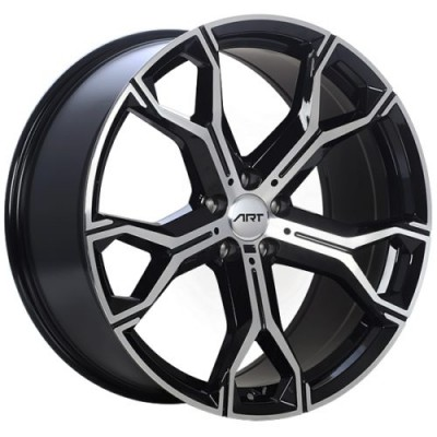 ART Replica 181 Gloss Black Diamond Cut wheel (21X9.5, 5x112, 66.6, 37 offset)