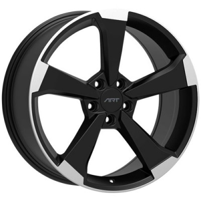 ART Replica 191 Gloss Black Diamond Cut wheel (19X8.5, 5x112, 66.5, 35 offset)