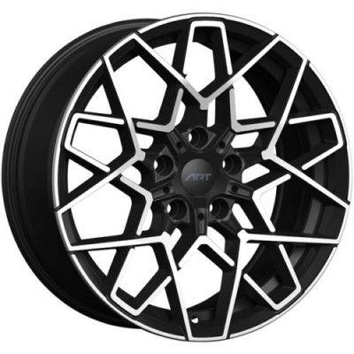 ART Replica 192 Gloss Black Diamond Cut wheel (18X9.0, 5x112, 66.6, 35 offset)