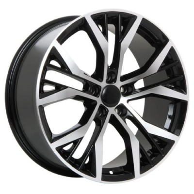 ART Replica 38 Gloss Black Diamond Cut wheel (18X8.0, 5x112, 57.1, 45 offset)