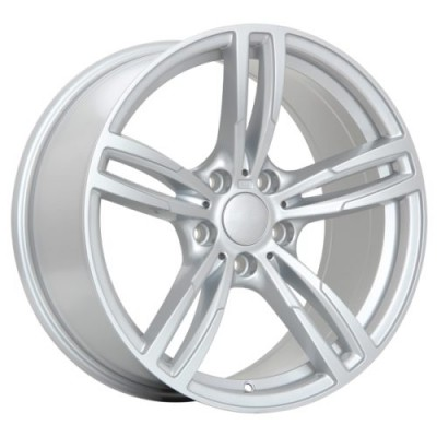 ART Replica 61 Silver wheel (18X8.5, 5x112, 66.6, 30 offset)