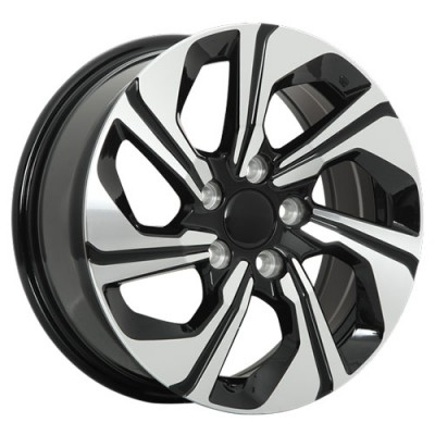 Art Replica Wheels Replica 116 Machine Black wheel (16X6.5, 5x114.3, 64.1, 43 offset)