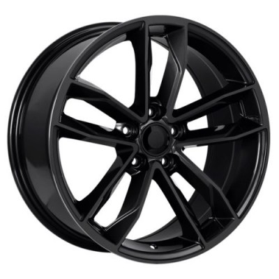 Art Replica Wheels Replica 129 Gloss Black wheel (18X8.0, 5x112, 66.5, 35 offset)
