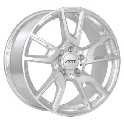 Art Replica Wheels Replica 130 Silver wheel (18X8.5, 5x112, 66.6, 45 offset)