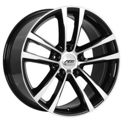 Art Replica Wheels Replica 132 Gloss Black Machine wheel (18X8.0, 5x120, 72.6, 35 offset)