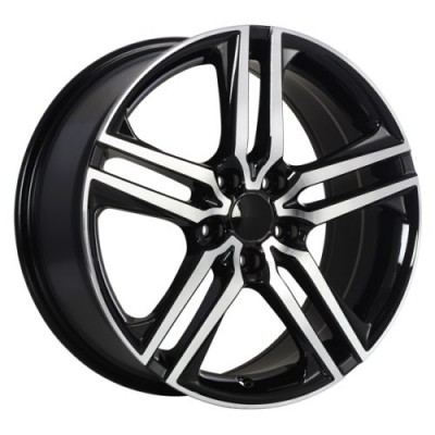 Art Replica Wheels Replica 145 Gloss Black Machine wheel (17X7.5, 5x114.3, 64.1, 55 offset)