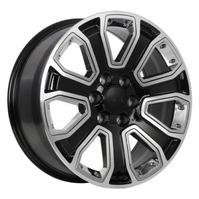 Art Replica Wheels Replica 146 Gloss Black Machine wheel (20X8.5, 6x139.7, 78.1, 31 offset)