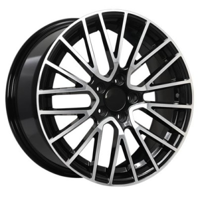 Art Replica Wheels Replica 156 Gloss Black Machine wheel (20X9.5, 5x130, 71.5, 45 offset)