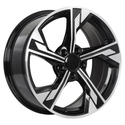 Art Replica Wheels Replica 162 Gloss Black Machine wheel (17X7.5, 5x112, 66.5, 35 offset)