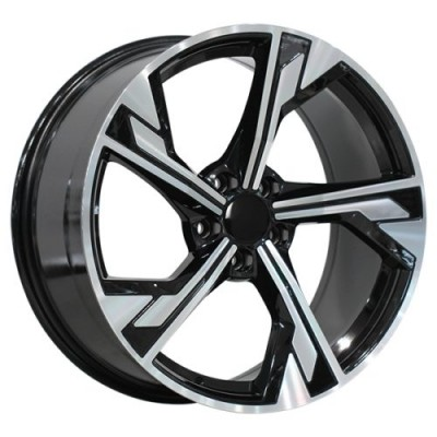 Art Replica Wheels Replica 162 Gloss Black Machine wheel (19X8.5, 5x112, 66.5, 25 offset)