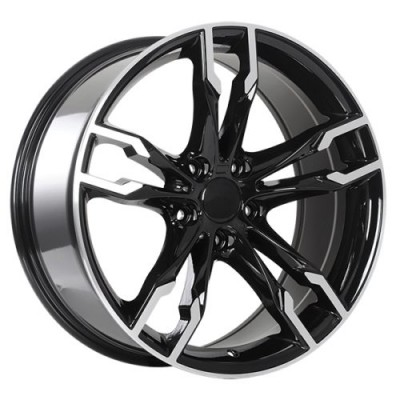 Art Replica Wheels Replica 165 Gloss Black Machine wheel (19X8.5, 5x120, 72.6, 35 offset)