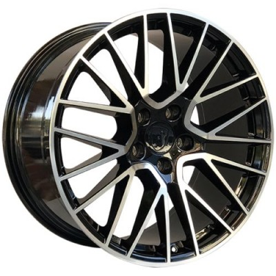 Art Replica Wheels Replica 198 Gloss Black Diamond Cut wheel (21X11.0, 5x130, 71.5, 58 offset)