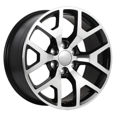 Art Replica Wheels Replica 54 Gloss Black Machine wheel (20X9.0, 6x139.7, 78.1, 27 offset)