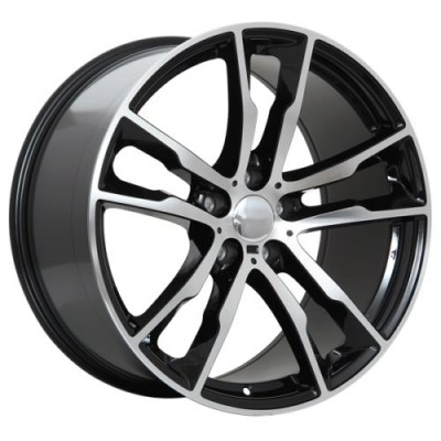 Art Replica Wheels Replica 64 Gloss Black Machine wheel (20X10.0, 5x120, 74.1, 40 offset)