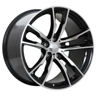 Art Replica Wheels Replica 64 Gloss Black Machine wheel (20X11.0, 5x120, 74.1, 37 offset)