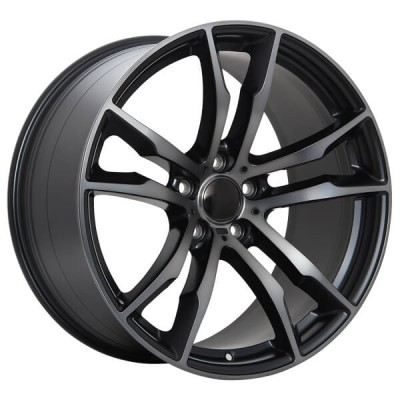 Art Replica Wheels Replica 64 Machine Black wheel (20X10, 5x120, 74.1, 40 offset)