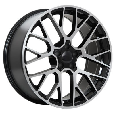 Art Replica Wheels Replica 98 Machine Black wheel (19X8.5, 5x130, 71.5, 55 offset)