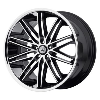 Asanti Black ABL-10 POLLUX Machine Black wheel (20X10, 5x120, 74.1, 35 offset)