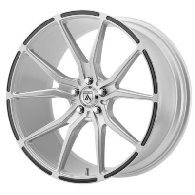 Asanti Black ABL-13 VEGA Machine Silver wheel (20X9, 5x115, 73, 15 offset)