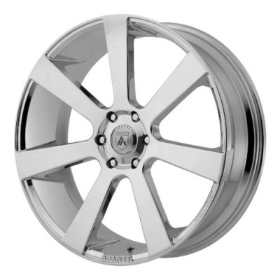 Asanti Black ABL-15 Chrome wheel (24X9, 6x139.7, 106.25, 15 offset)