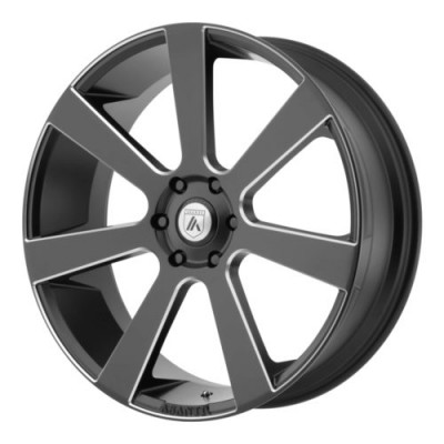 Asanti Black ABL-15 Machine Black wheel (22X9, 5x115, 72.60, 15 offset)
