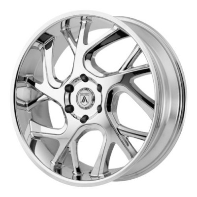 Asanti Black ABL-16 Chrome wheel (22X9, 6x135, 87.10, 30 offset)